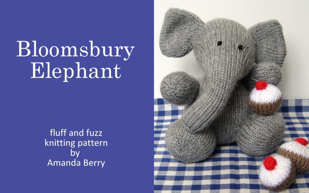 Bloomsbury Elephant Knitting Pattern