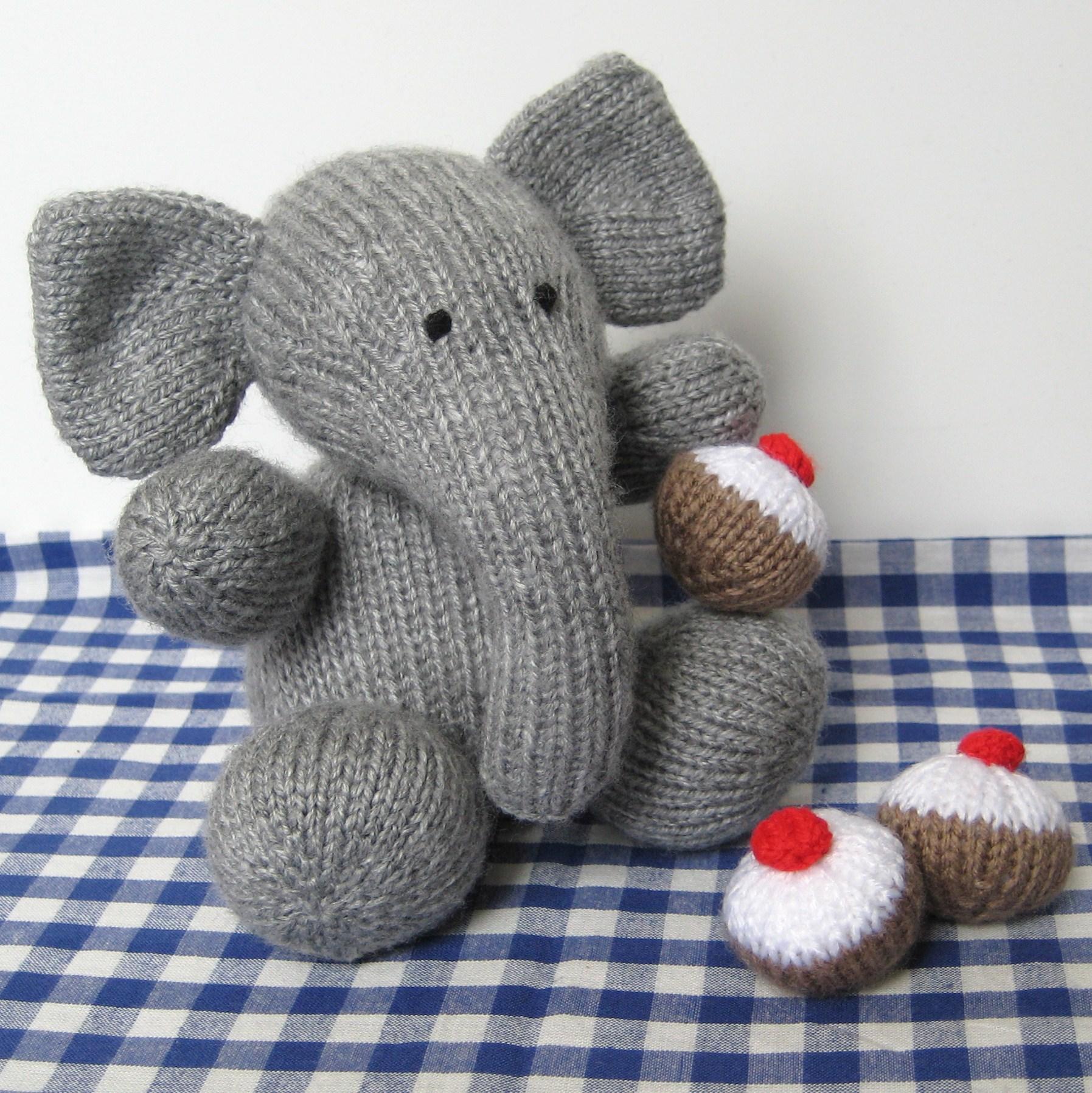 Amigurumi Elephant Knitting Pattern : Bloomsbury elephant knitting pattern