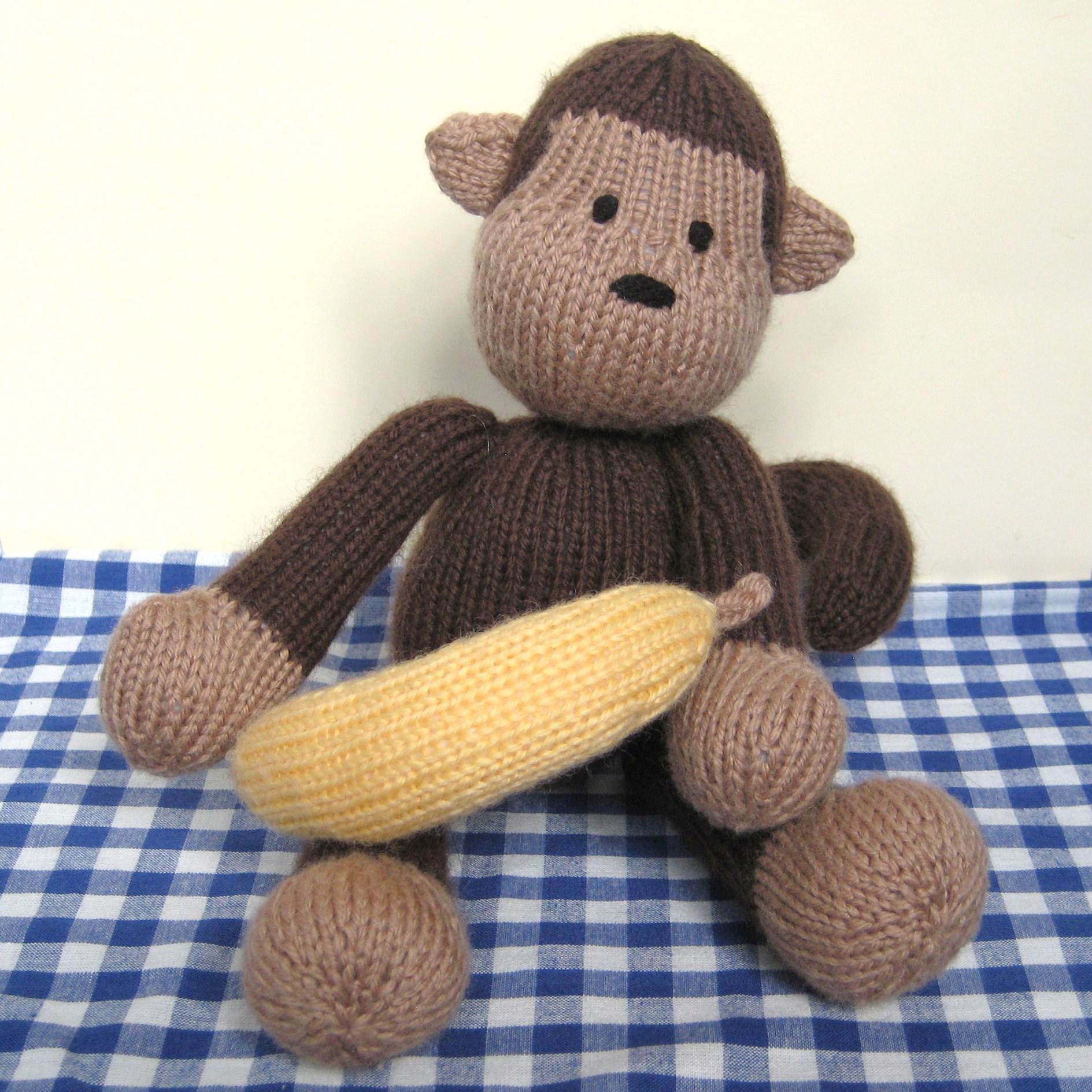 Free Knitting Patterns Toy Monkey : Norwood monkey knitting pattern