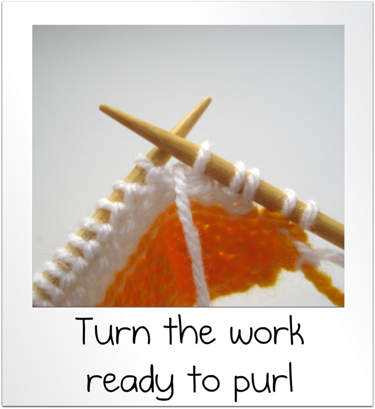Knitting Wrap And Turn Purl Side : How to wrap and turn knit short rows