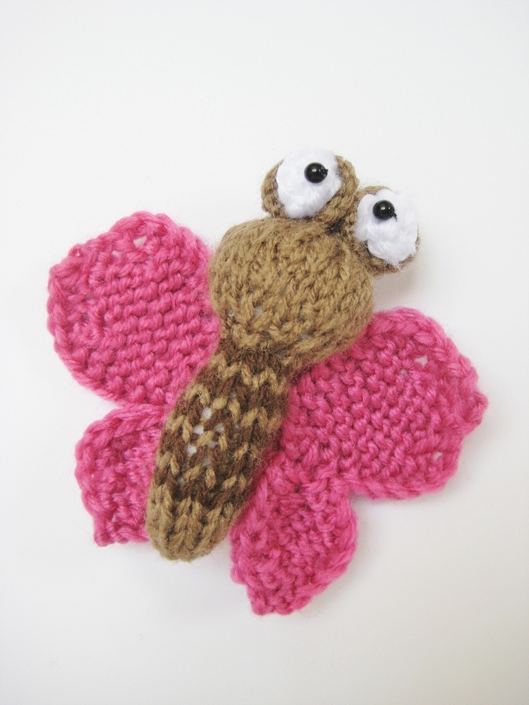 Knitting Pattern Butterfly Toy : fluff and fuzz knitting blog
