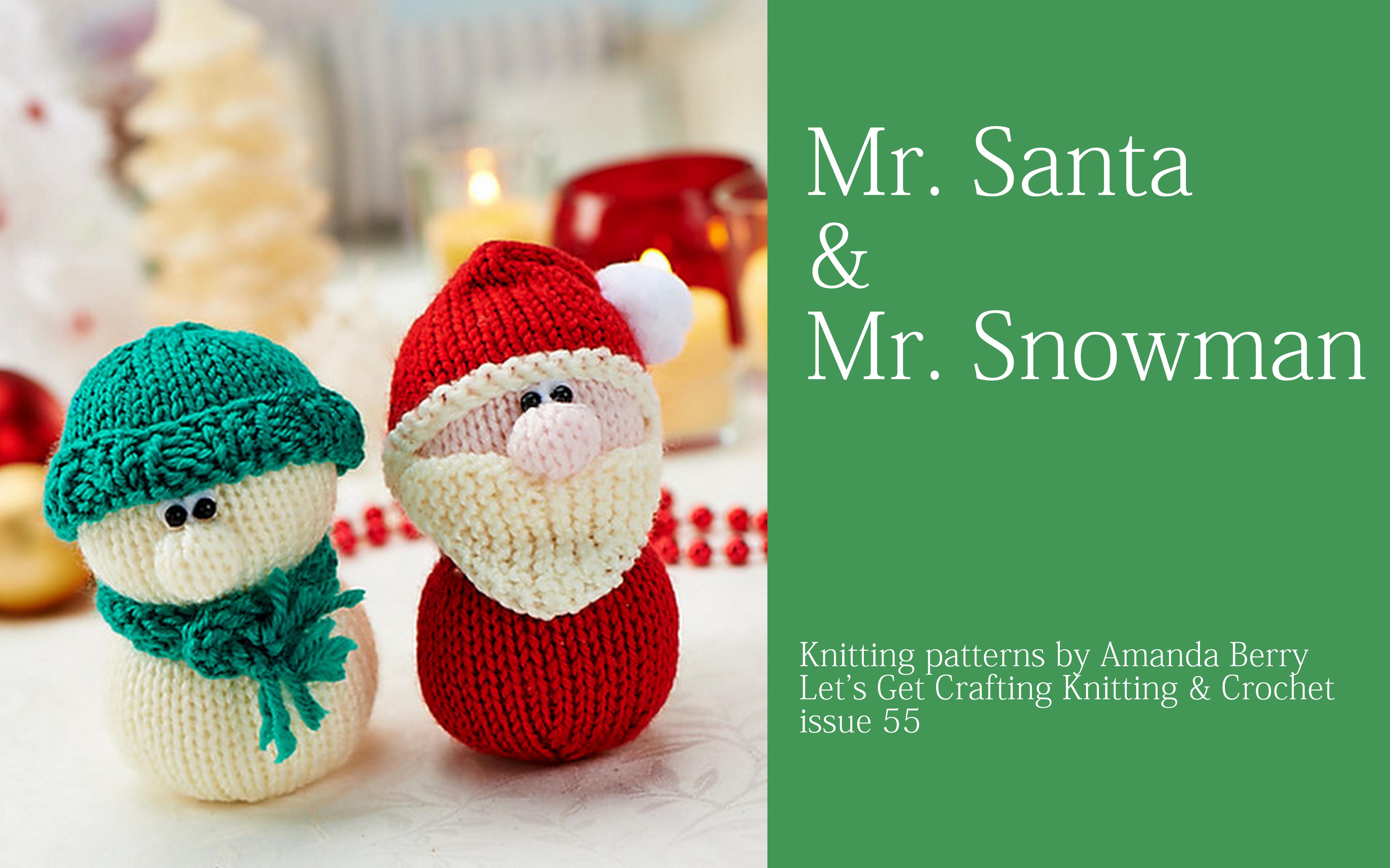 knitting pattern designs by Amanda Berry