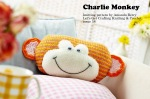 Charlie Monkey cushion