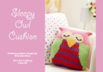 Sleepy Owl Cushion